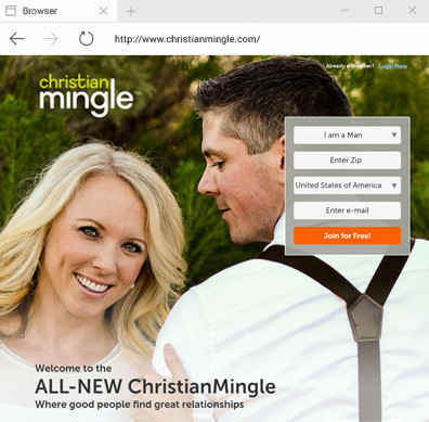 How to use christian mingle for free